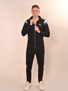Мъжки български анцуг в черно, синьо и сиво. Respeero