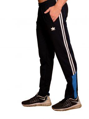 Мъжко стеснено долнище с кант, биета и цип