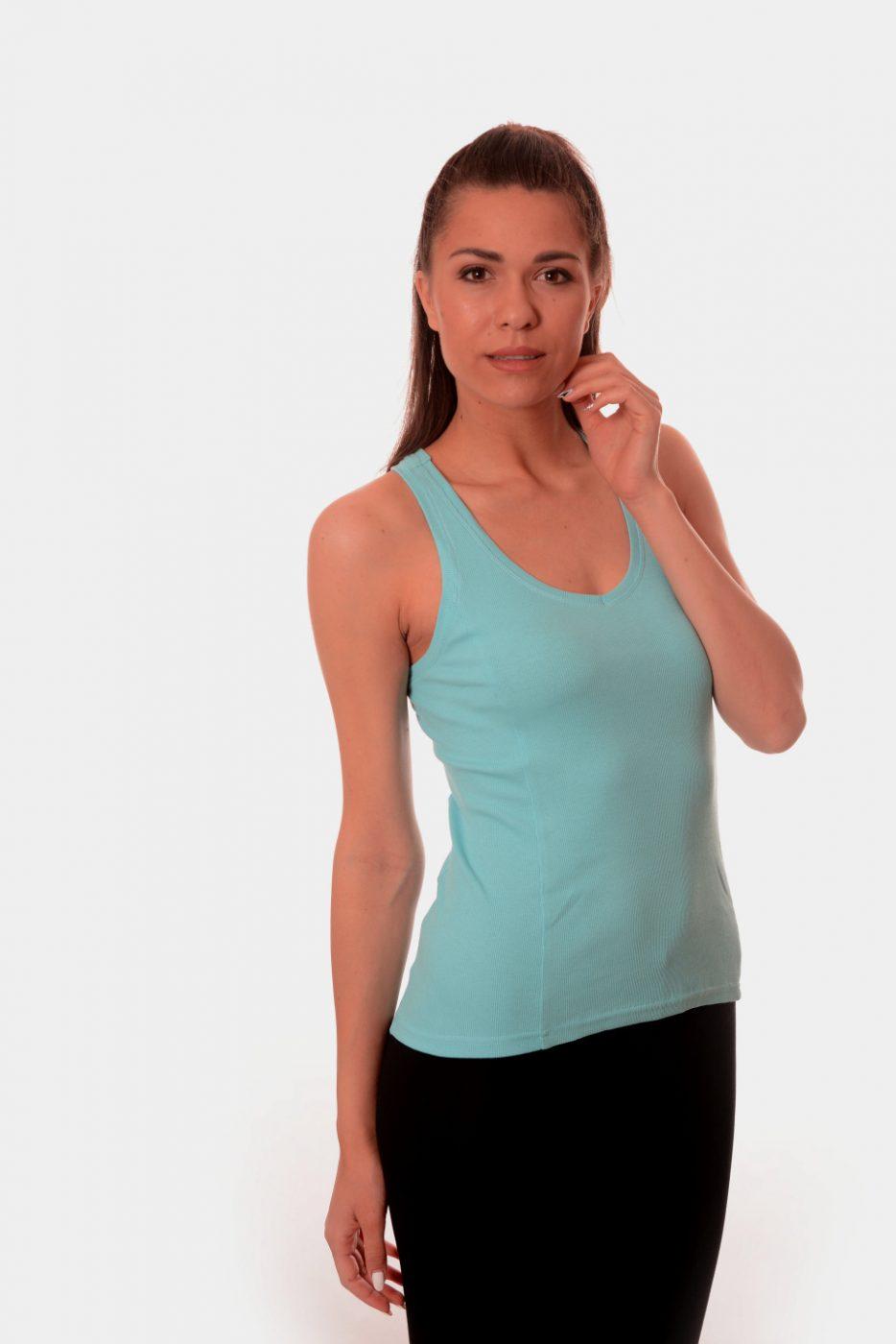 Дамски потник с отворен гръб