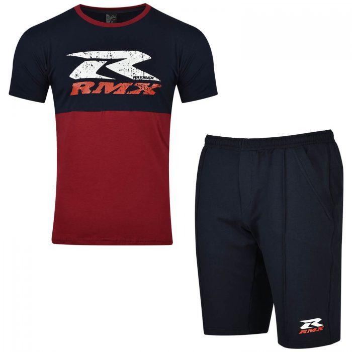 Летен комплект с къси панталони и тениска -Реймакс