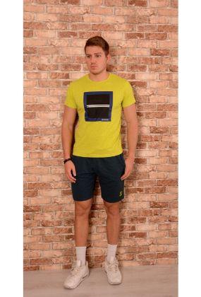 Мъжки комплект от тениска и къси панталони - Каталог Лято 2019г.