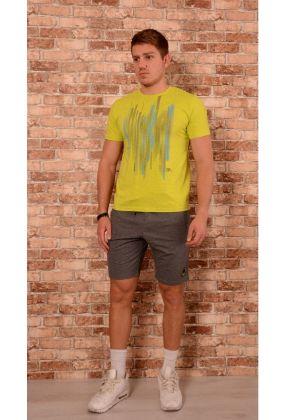 Мъжки комплект тениска и къси панталони