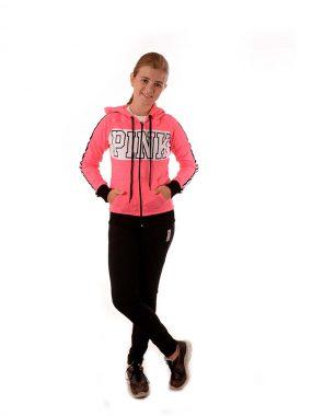 Юношески анцуг за момиче PINK от памучна материя