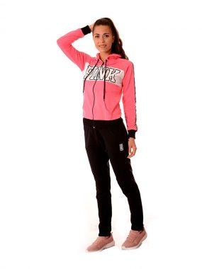 Дамски спортен анцуг в розово - PINK