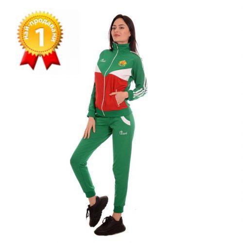 Дамски спортни екипи на България с бродерия