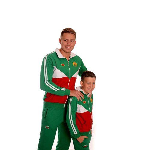 Български спортни екипи за баща и дете произведени в България
