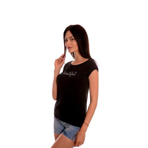 Дамска тениска от памук произведена в България
