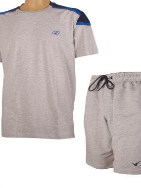 Комплект тениска и къси панталони за едри мъже. Произведен в България!