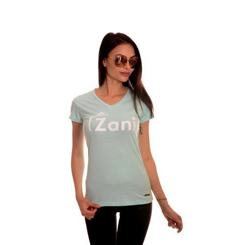 Българска тениска в синьо