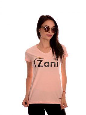 Българска тениска в розово от новата ни колекция 2020г. Zani носи късмет!