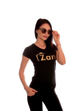 Дамска тениска произведена в България от Zani- модел 2020г. Естествена материя