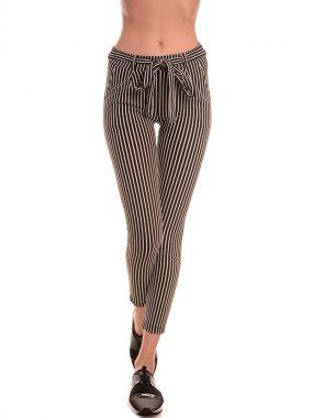 Модерен, еластичен панталон Zani - рае. Произведен в България от качествена материя.