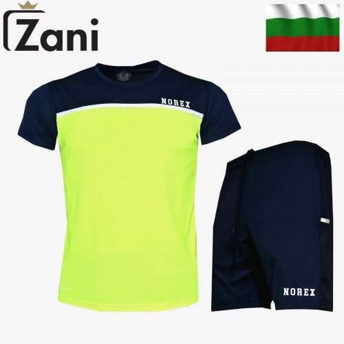 Мъжки летен комплект в зелено произведен в България!