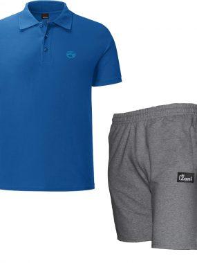 Летен комплект тениска и къси панталони - Зани. Произведено в България