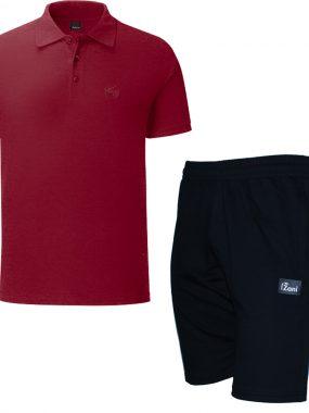 Летен комплект тениска и къси гащи - Зани. Произведени в България.