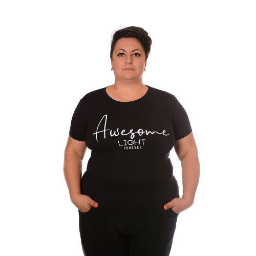 Тениска за едри жени от памук