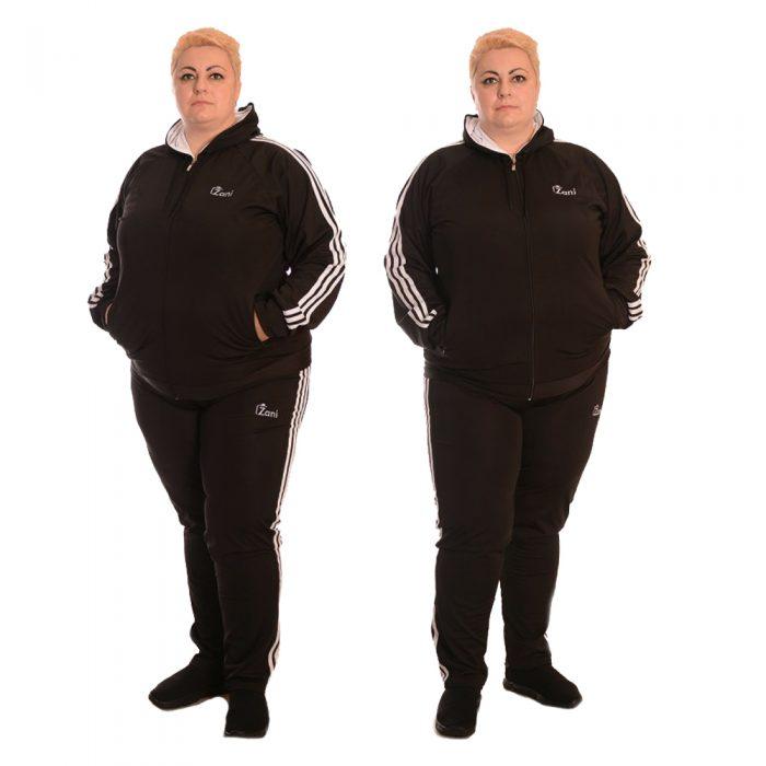 Спортни дрехи за големи жени! Дамски анцуг size plus - Zani