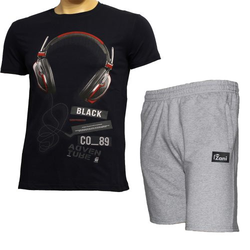 Летни комплекти тениска и къси панталони - Зани
