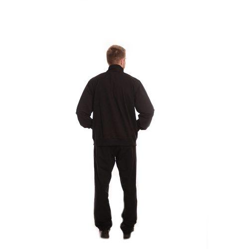 Български памучен анцуг за едри мъже с право долнище.