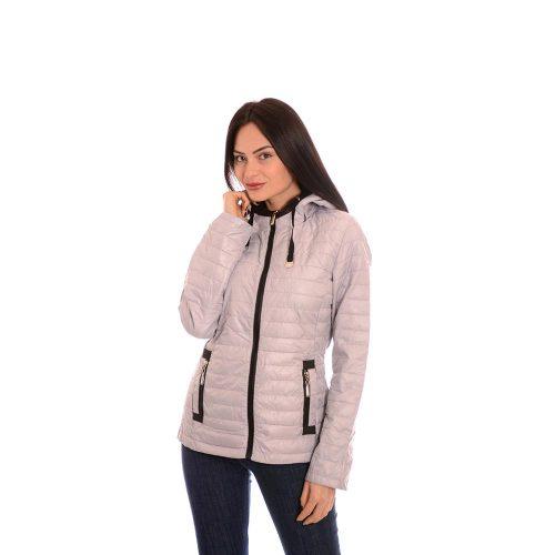 Дамско яке - сив цвят