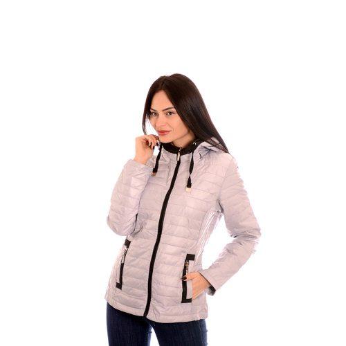 Дамско яке за пролетта - сив цвят