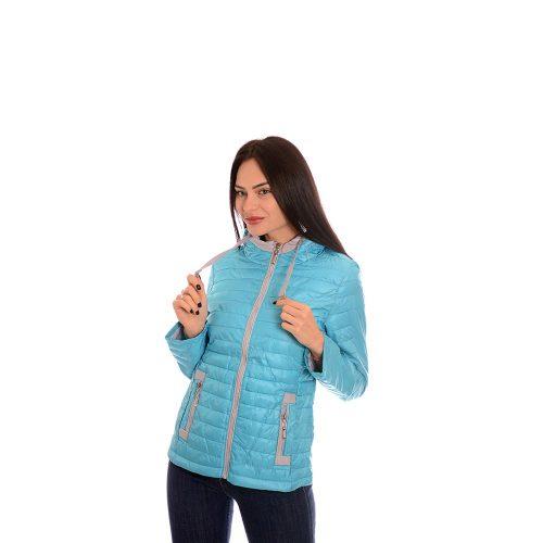 Дамско тънко яке. Син цвят