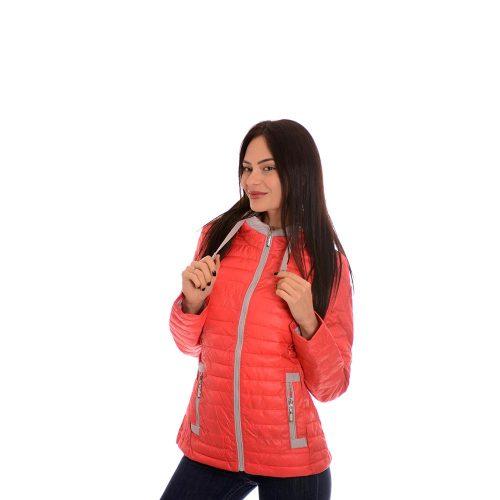 Дамско яке в червено. Пролетен модел.