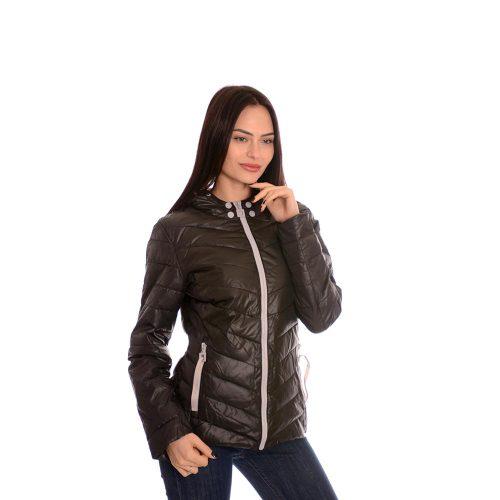 Дамско тънко яке. Черен цвят