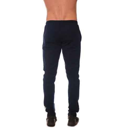 Тъмно синьо памучно долнище с ластик и кантове. Български бранд ЗАНИ
