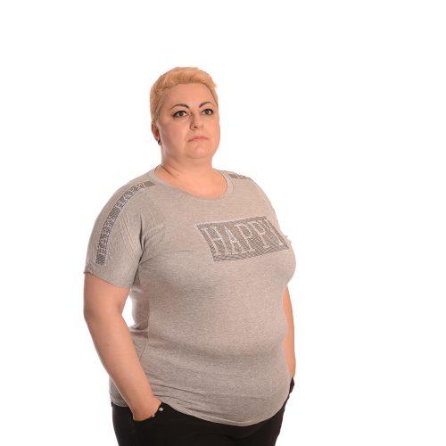 Макси тениска с камъни