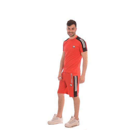 Български комплекти за мъже тениска и  къси панталони произведени в България.