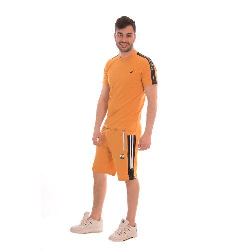 Български комплект тениска и къси панталони. Страхотна памучна материя!
