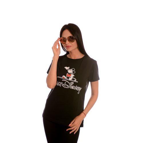 Дамска тениска Walt Disney - Mickey mouse от памук и ликра