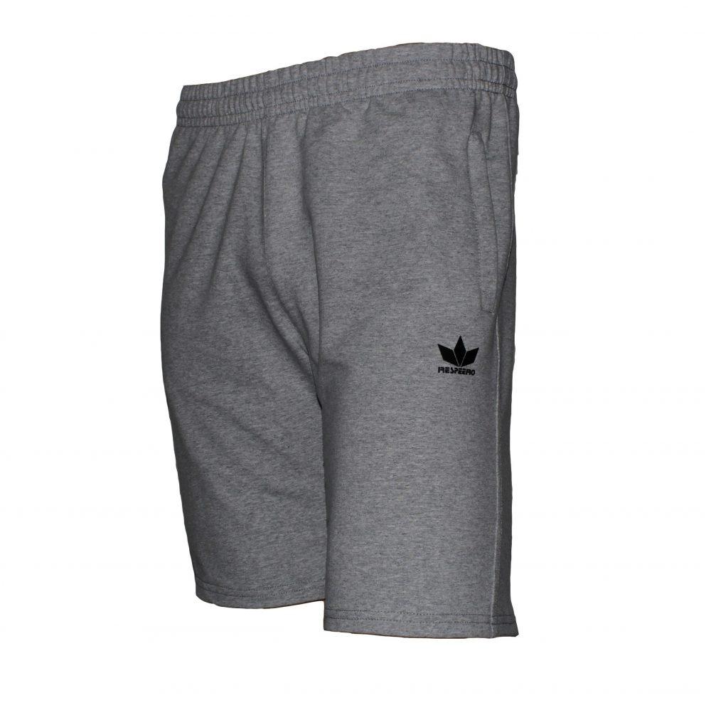 Сиви къси панталони от памук