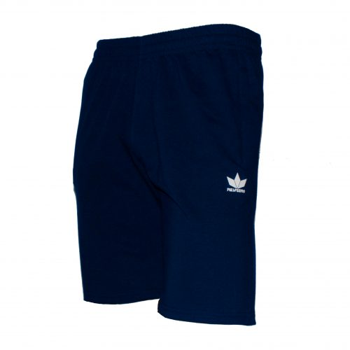 Сиви къси панталони от памук произведени в България.
