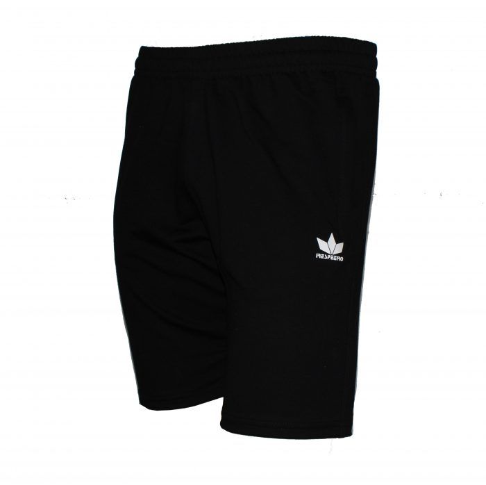 Черни къси панталони от памук произведени в България.