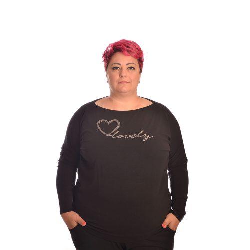 Дамска блуза макси размер. Блуза макси произведена в България